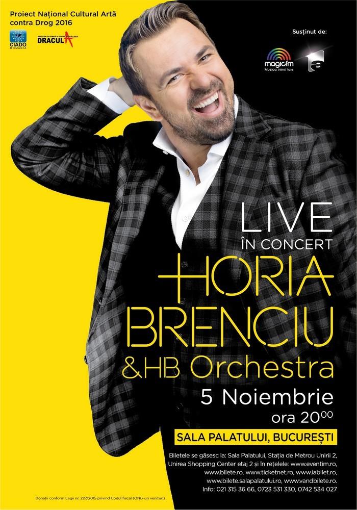 Horia Brenciu concert Bucuresti Sala Palatului