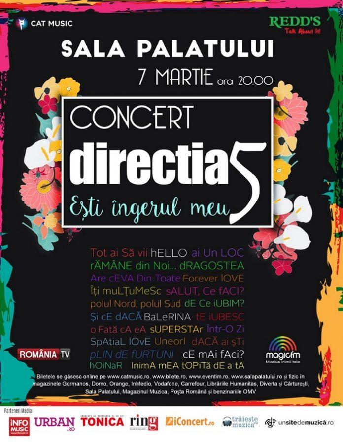 Afis Directia 5 - Concert 2017