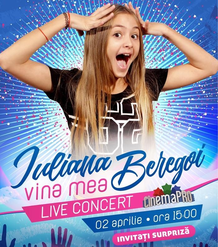 iuliana beregoi concert cinema pro 2017