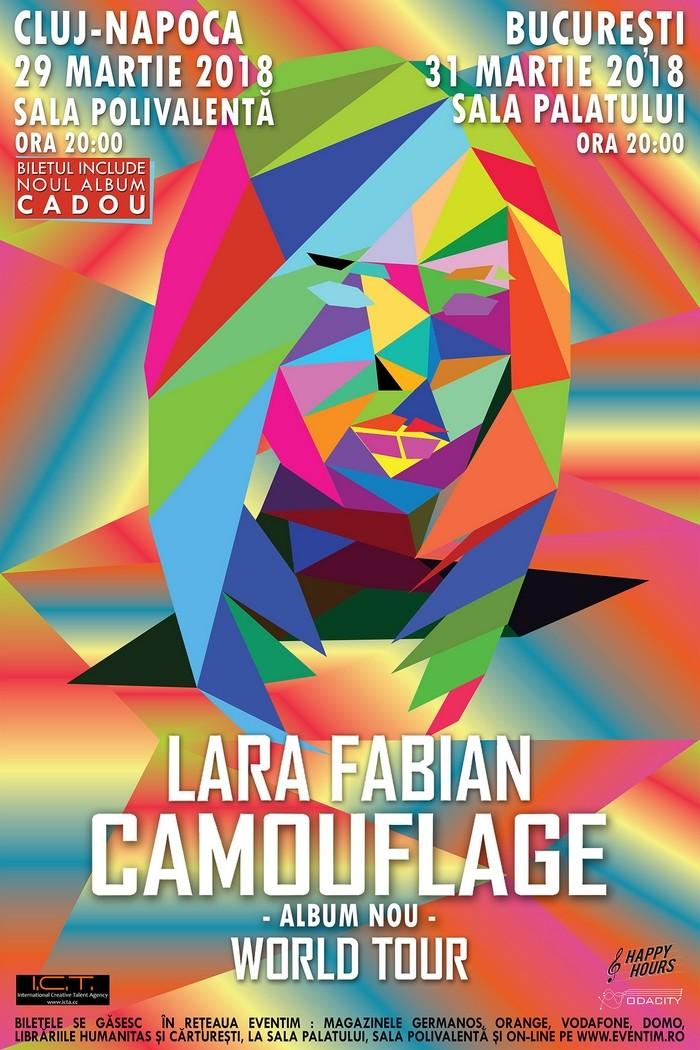 Poster LARA FABIAN