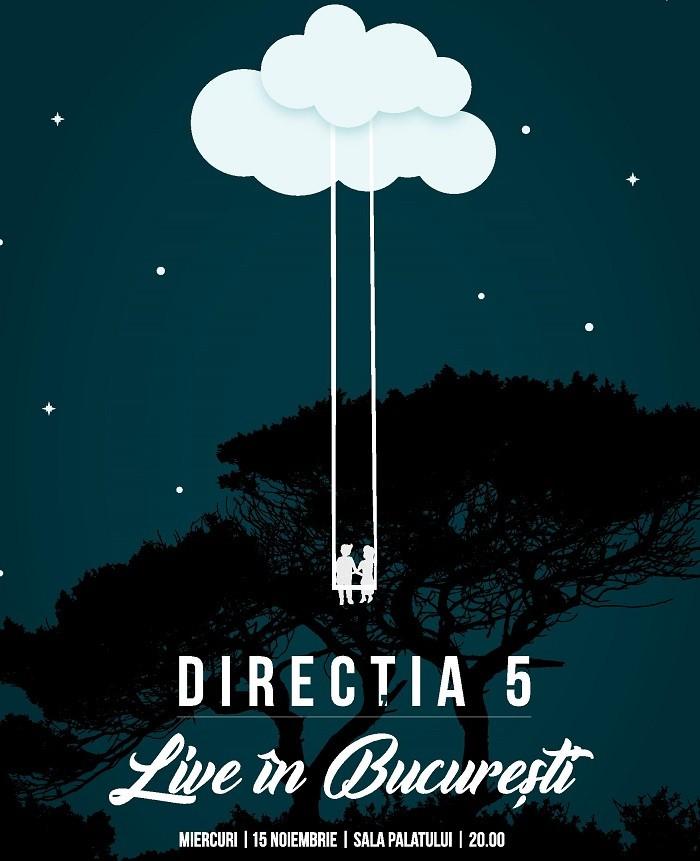 directia 5 live in bucuresti concert