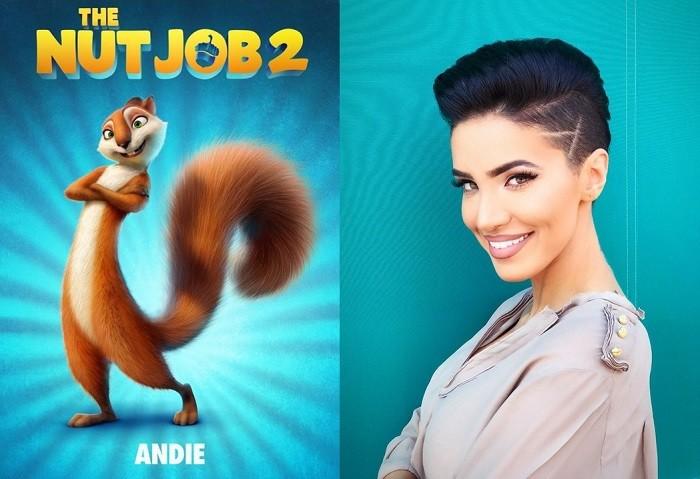 Adelina Pestritu este Andie Nut Job2
