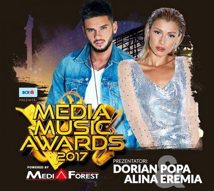 Dorian Popa si Alina Eremia Media Music Awards