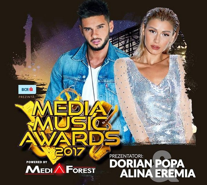 Dorian Popa si Alina Eremia Media Music Awards