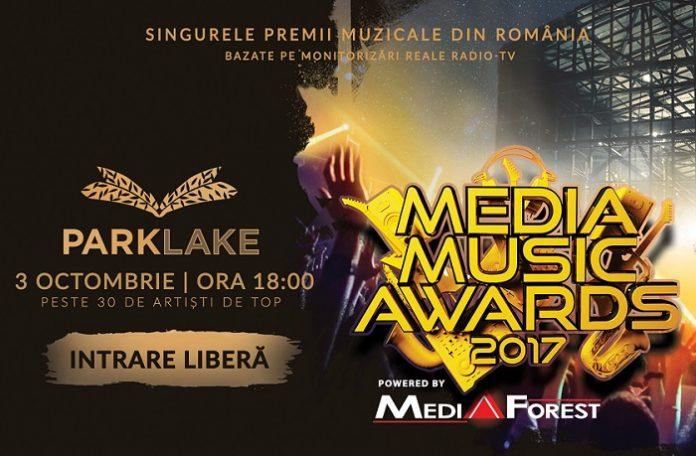 media music awards park lake