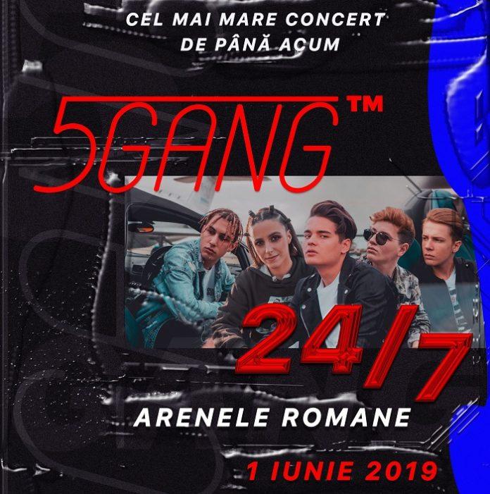 5 gang afis concert 24 7
