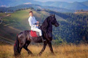 grigore gherman a filmat pe cal