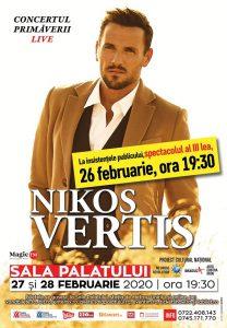 al treilea concert Nikos Vertis