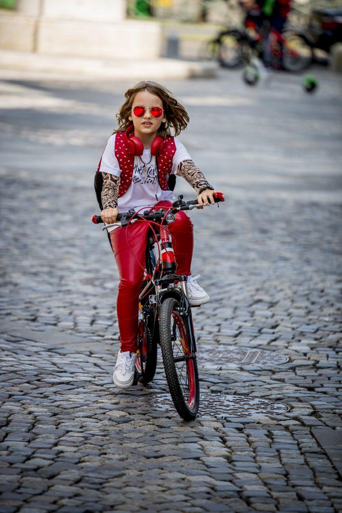 david dobrincu cu bicicleta