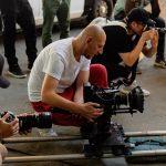 regizorul richard stan la filmare